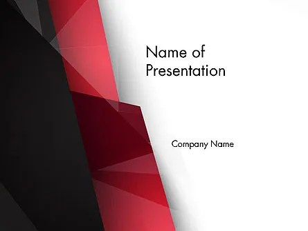 Low Polygons Abstract PowerPoint Template, Backgrounds 13963