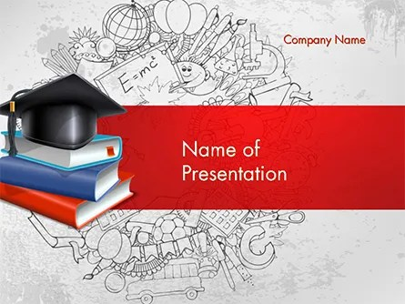 Education Theme PowerPoint Template, Backgrounds 14665