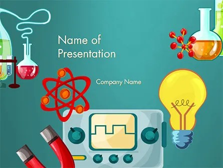 Science Education PowerPoint Template, Backgrounds 14744