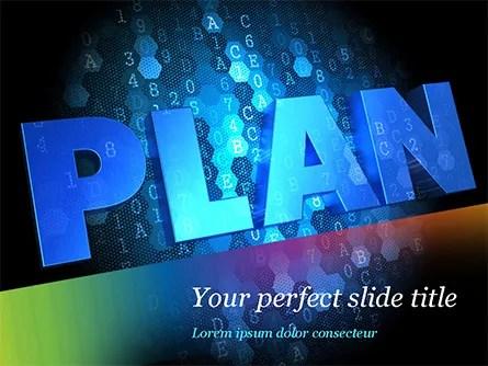 Blockchain Project Plan PowerPoint Template, Backgrounds 15228