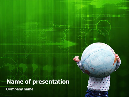 Kids and World - Power Point Templates - Kids and World Presentation