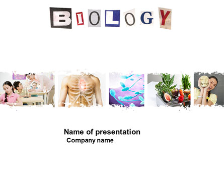 Biology Class Presentation Template for PowerPoint and Keynote PPT