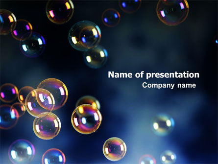 Soap Bubbles Presentation Template for PowerPoint and Keynote PPT Star
