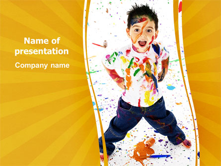 Madcap Kid - Power Point Templates - Madcap Kid Presentation Theme