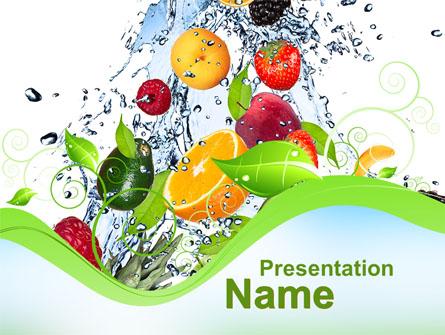 Summer Fruits Presentation Template for PowerPoint and Keynote - summer powerpoint template