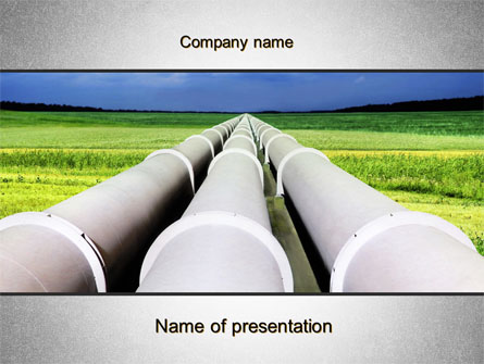 Pipes Perspective Presentation Template for PowerPoint and Keynote