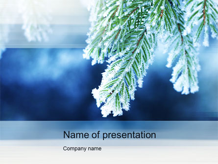 Winter Presentation Template for PowerPoint and Keynote PPT Star