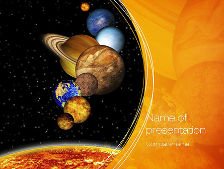 The Solar System Presentation Template for PowerPoint and Keynote
