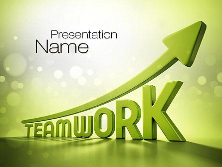 Teamwork Development Presentation Template for PowerPoint and