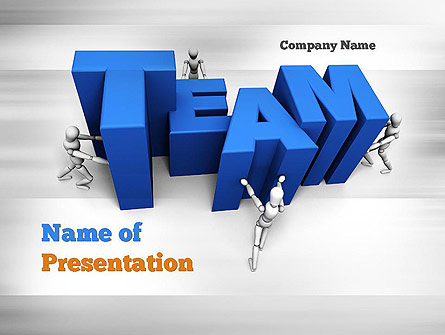 Teambuilding Presentation Template for PowerPoint and Keynote PPT Star