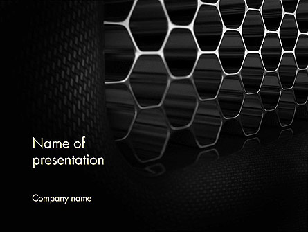 Composite Material Background Presentation Template for PowerPoint