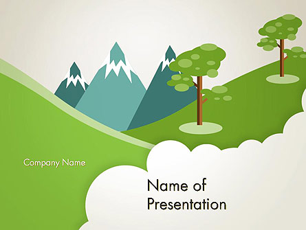Landscape for Kids - Power Point Templates - Landscape for Kids