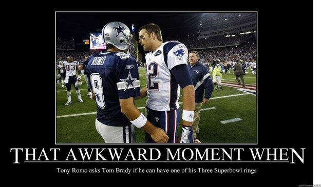 Tom Brady Wallpaper Quote That Awkward Moment When Tony Romo Asks Tom Brady If He
