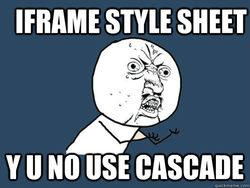 u y no use cascade