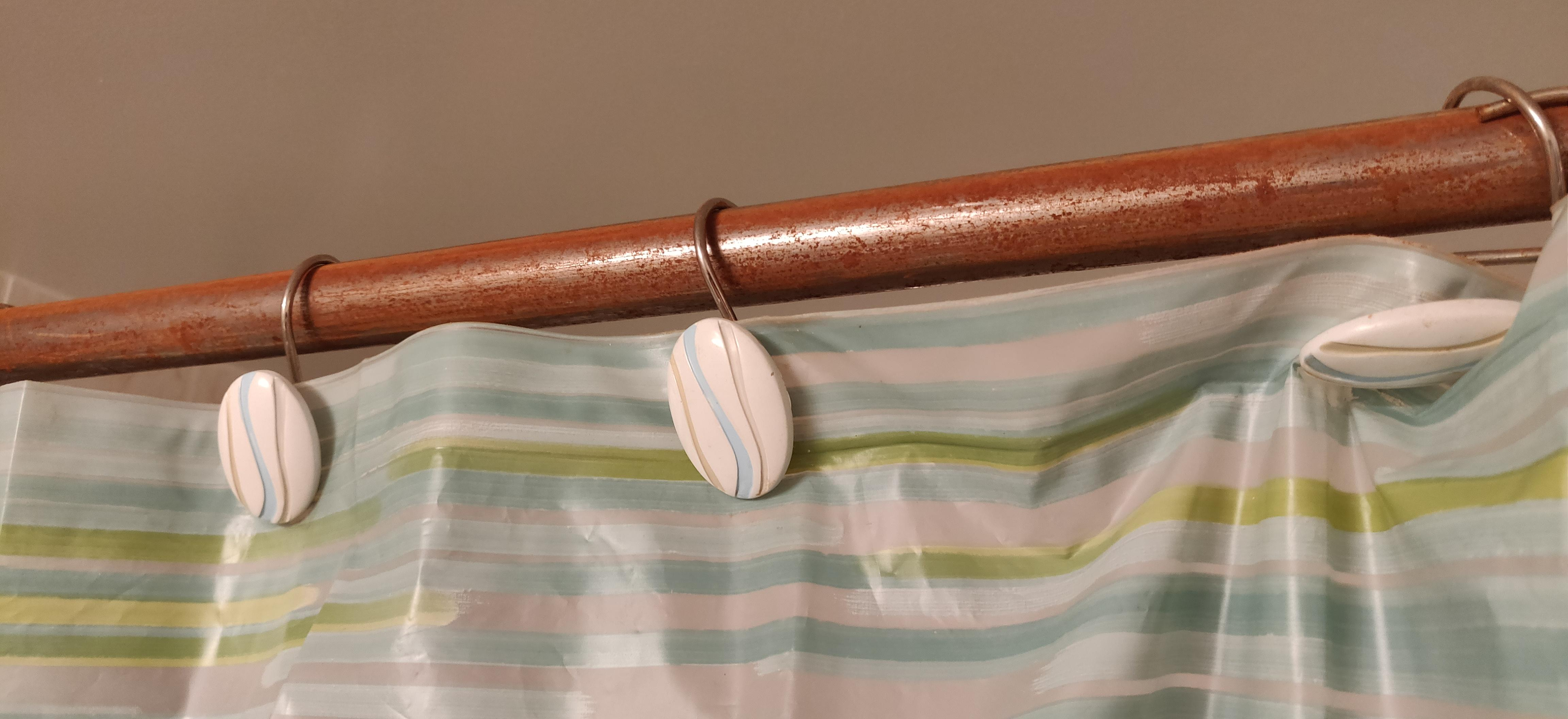 Unique Shower Curtain Rods The Shower Curtain Rod That Can Rust Crappydesign