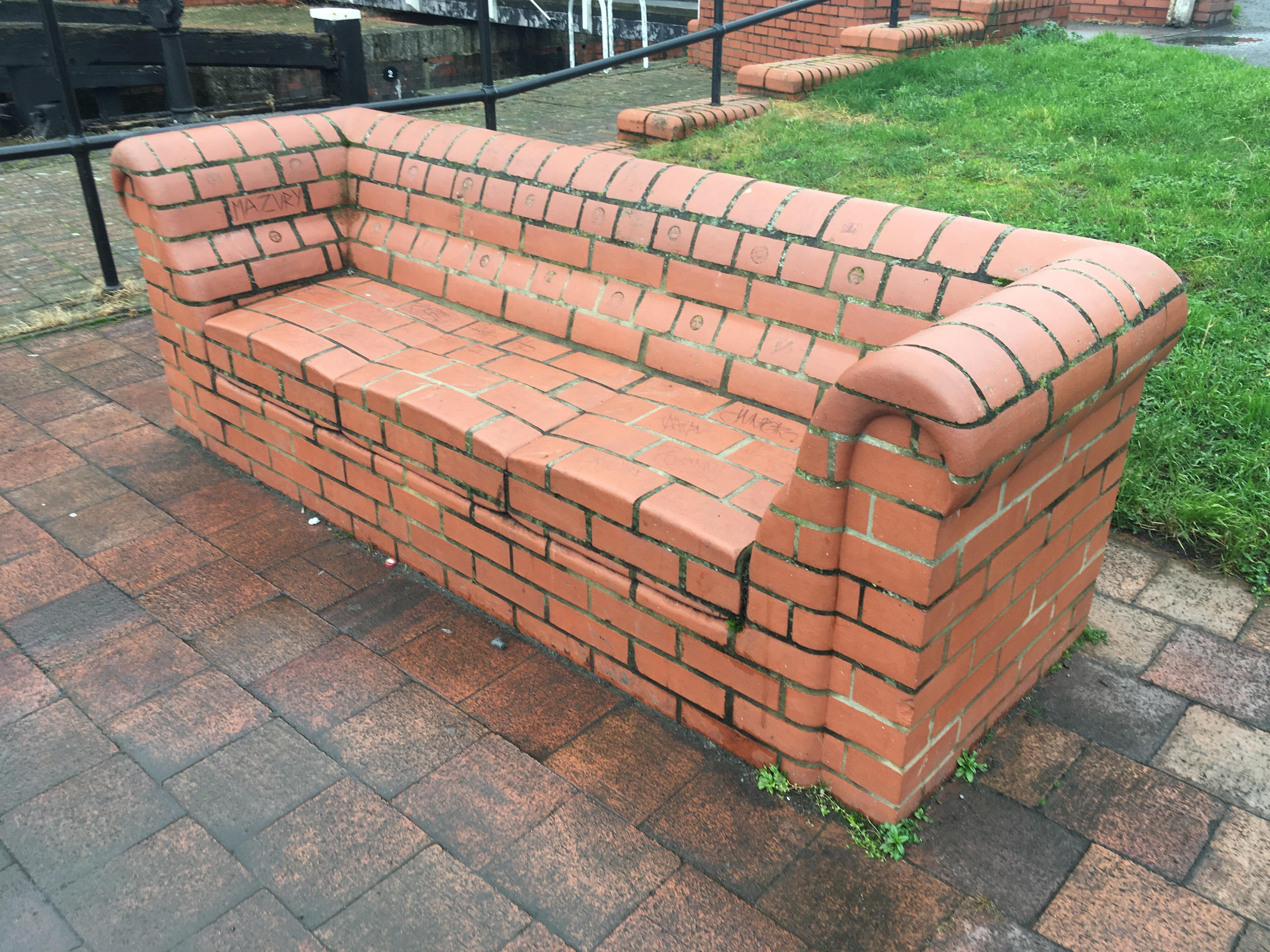 Sofa Couch Reddit This Brick Couch Mildlyinteresting