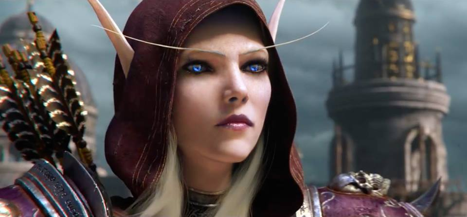 How Would Sylvanas Look As A High Elf Wow