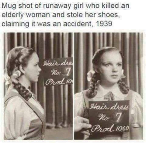 Vintage criminal profile!!!  funny