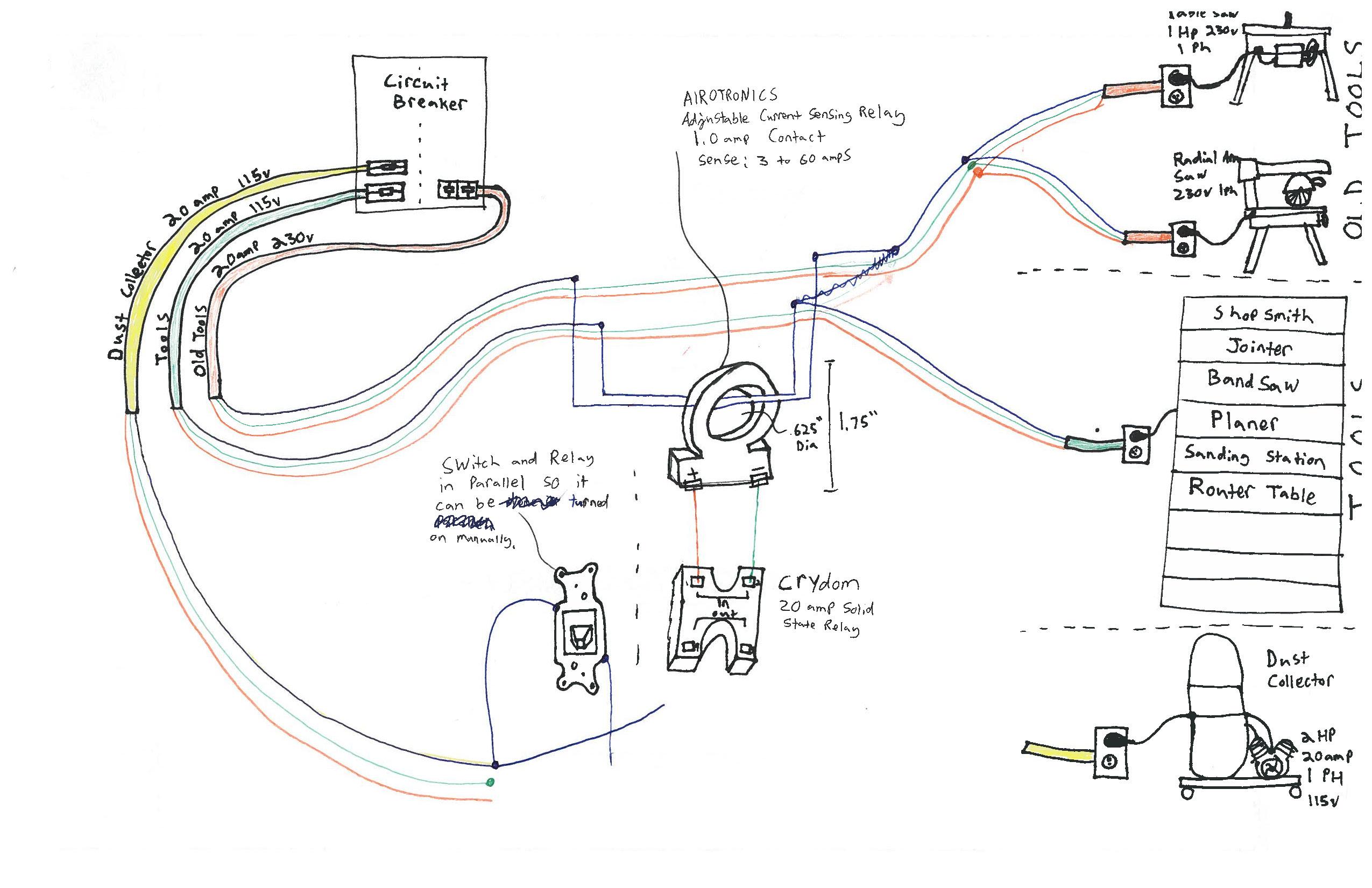 wiring switch leg drop