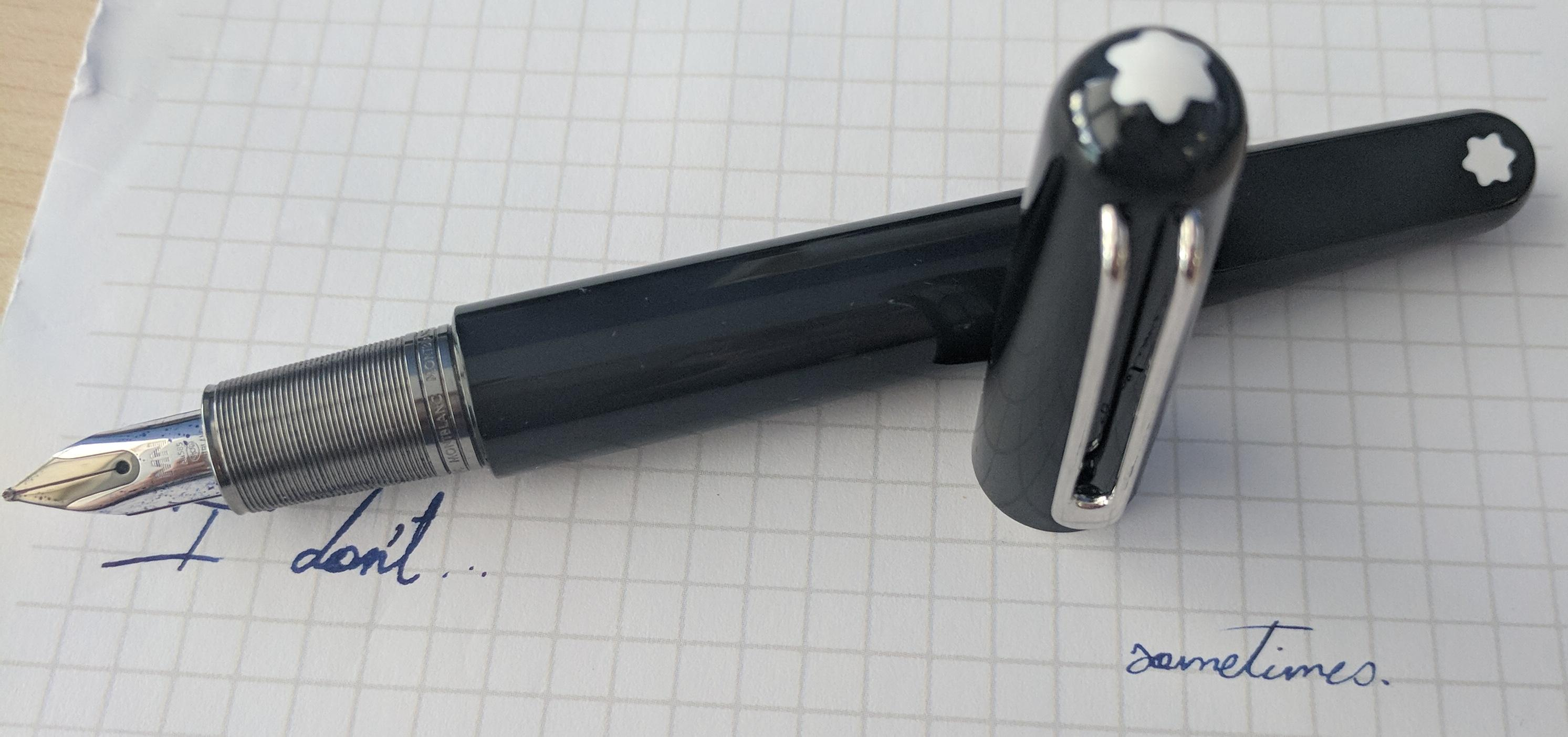 Calligraphy Pens B&m A Lot Of People Hate This Pen Fountainpens