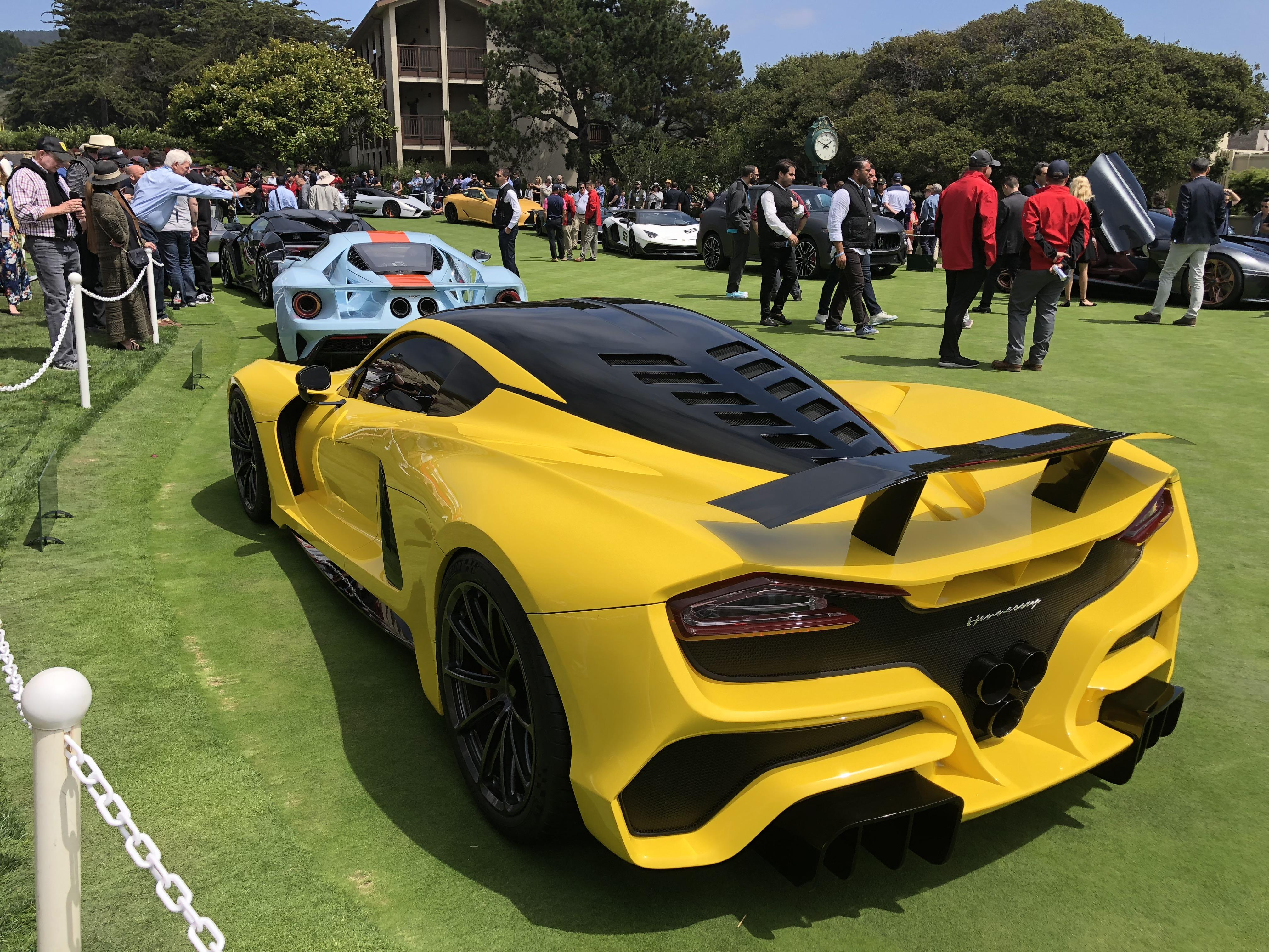 2018 Hennessey Venom F5 The Hennessey Venom F5 On The Concept Lawn At Car Week 2018 Autos
