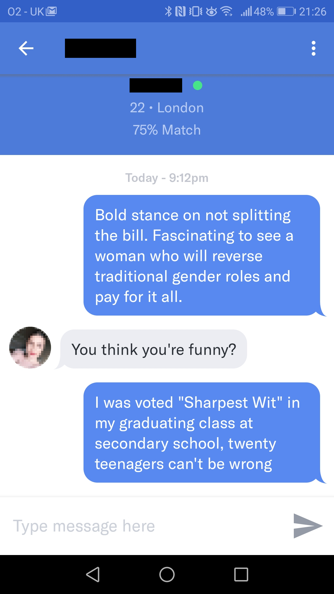 Split Wit Her Profile Said She Wouldn T Date Anyone Who Would Split The Bill