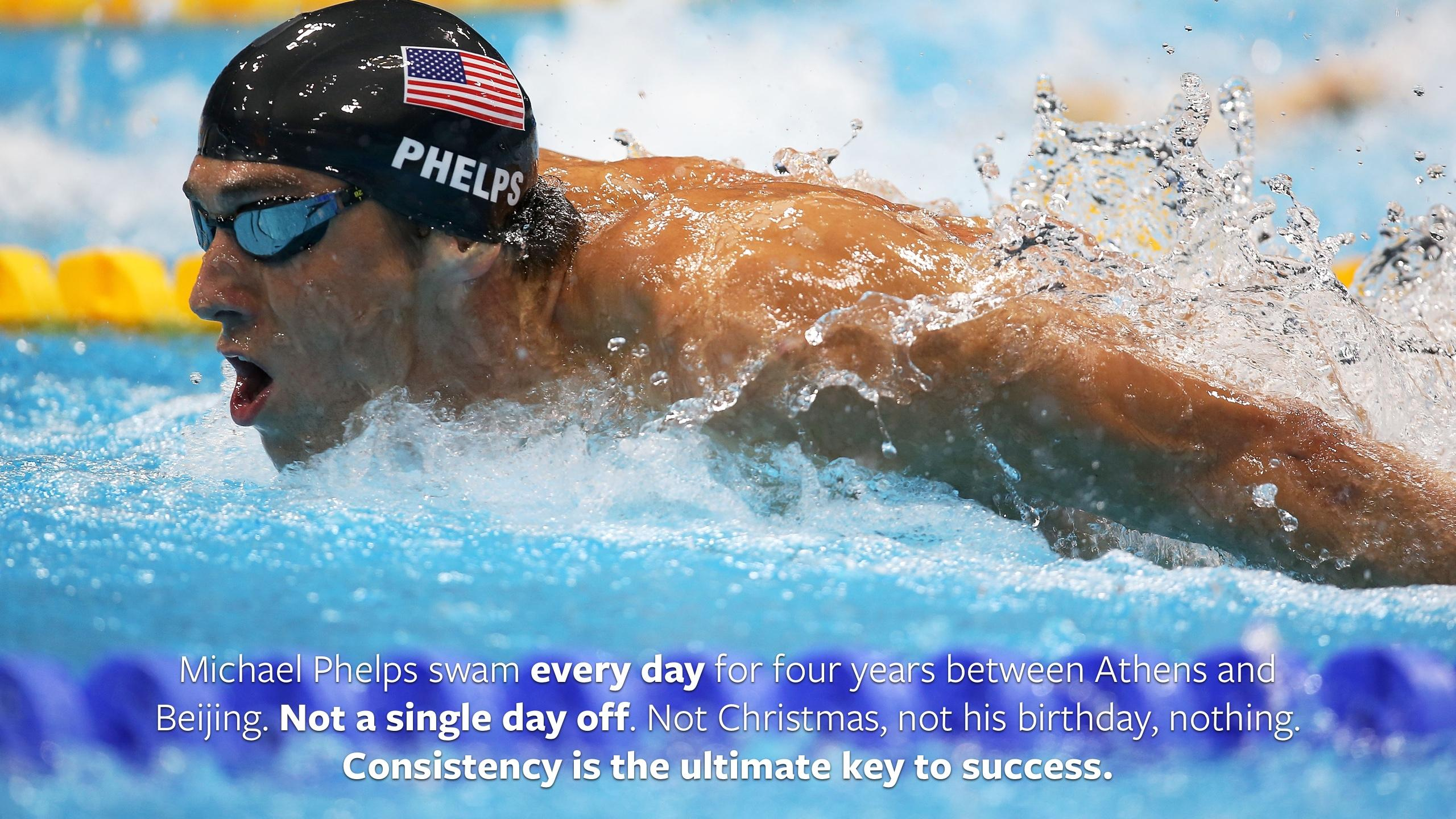 Michael Phelps Quote Wallpaper Loved That Quote About Michael Phelps Swimming Every Day