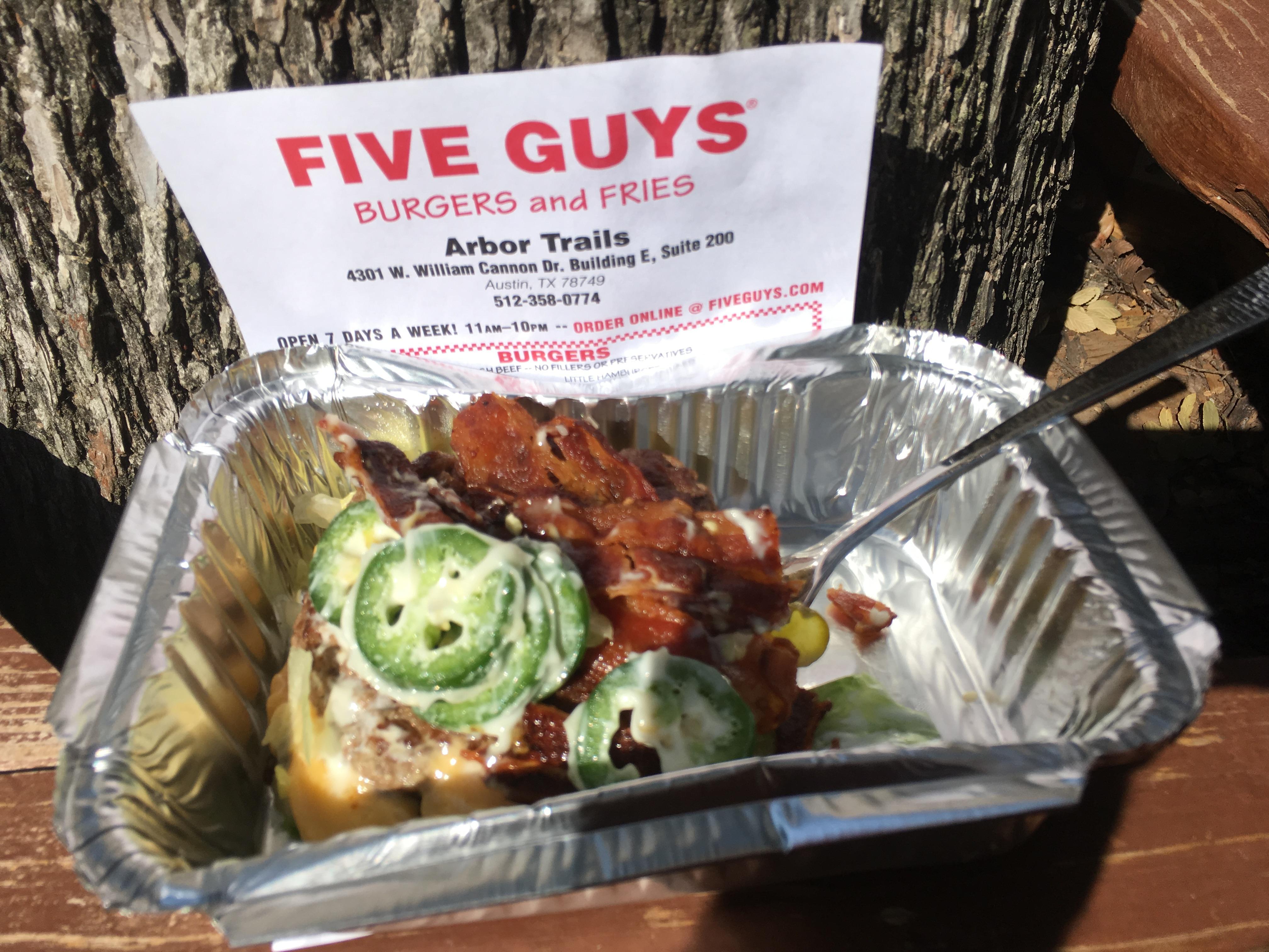 Fullsize Of Five Guys Menu Nutrition