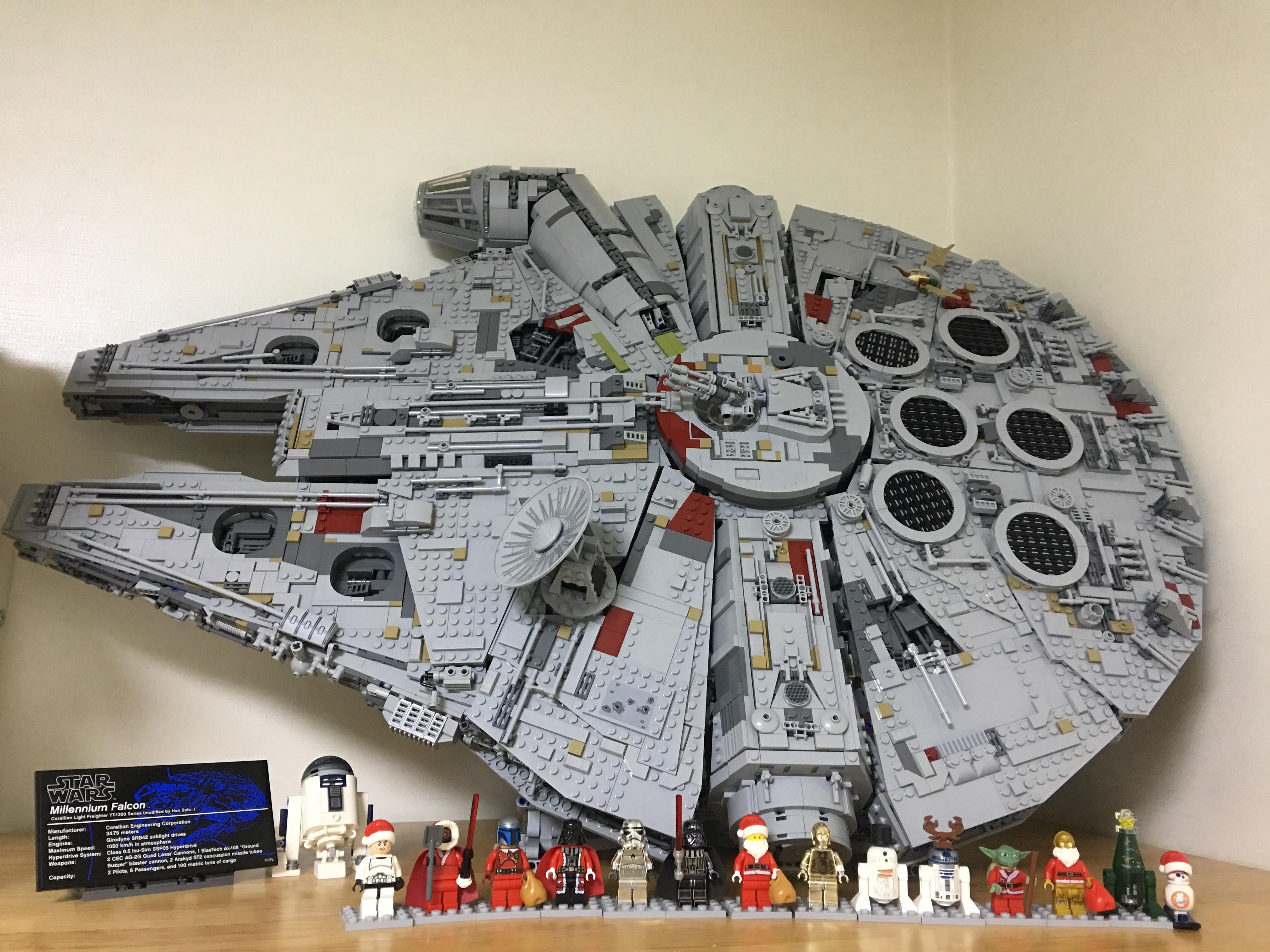 Millennium Falcon Coffee Table Brick Brains Star Wars Lego Finally Able To Finish The Falcon With Effermans Stand