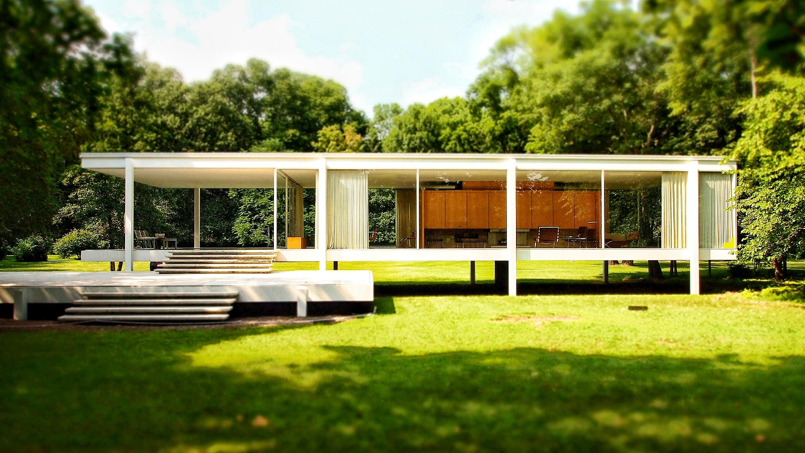Ludwig Mies Van Der Rohe The Farnsworth House By Ludwig Mies Van Der Rohe Plano Illinois