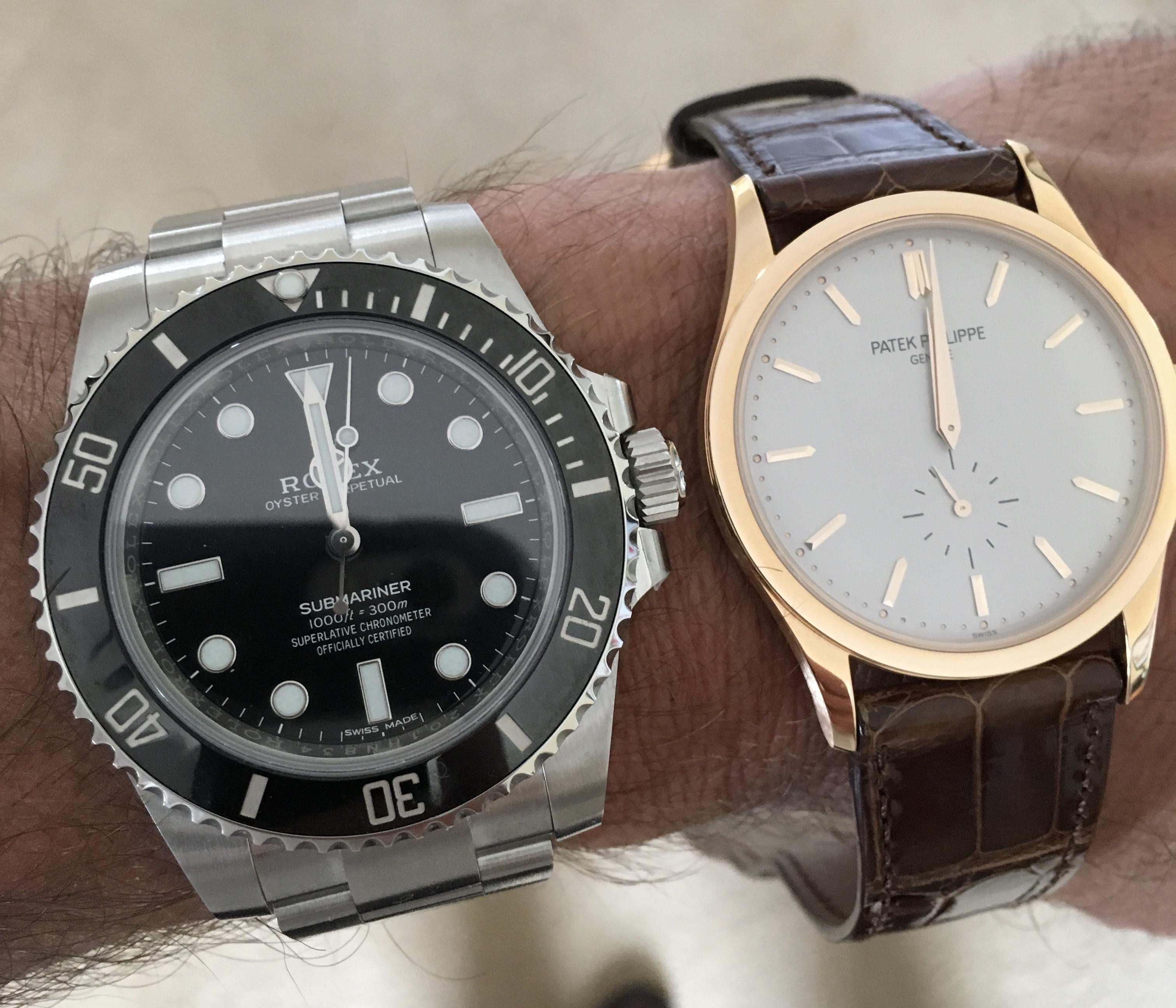 Rolex Patek Rolex And Patek Philippe Completed My Two Watch Collection Watches