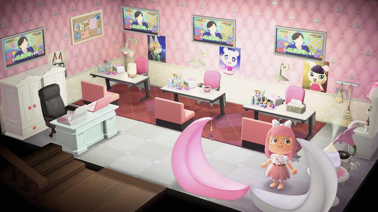 Since I Can T Get My Claws Done Irl Anymore I Made A Nail Salon In My Home Who Would Be Your Go To Nail Villager Animalcrossing
