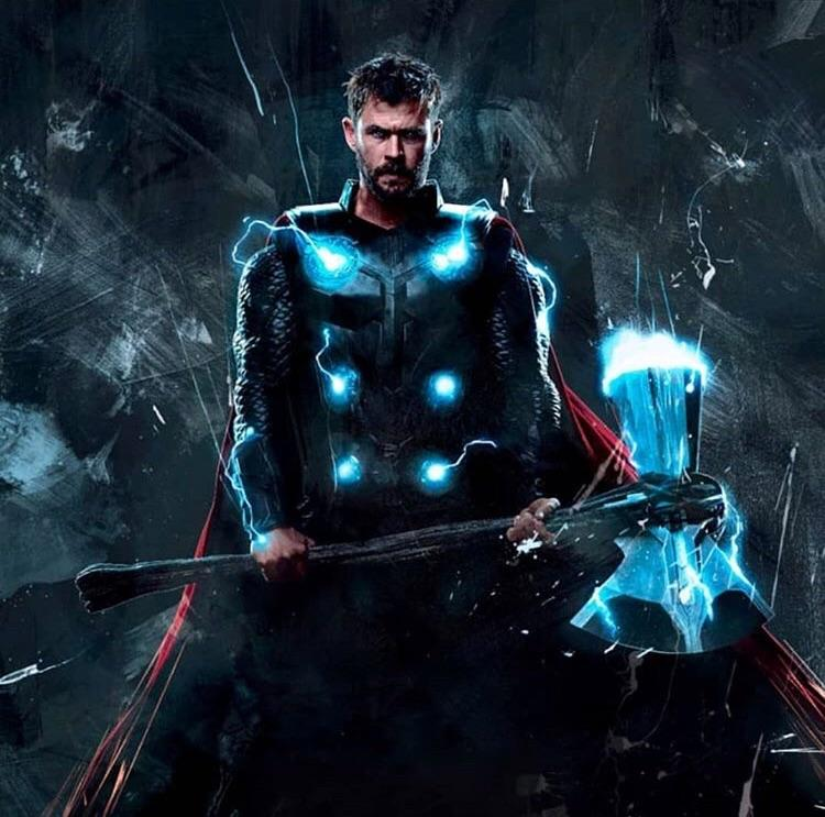 3d Thor Ragnarok Android Wallpaper Avengers Infinity War Thor Promo Art Marvelstudios