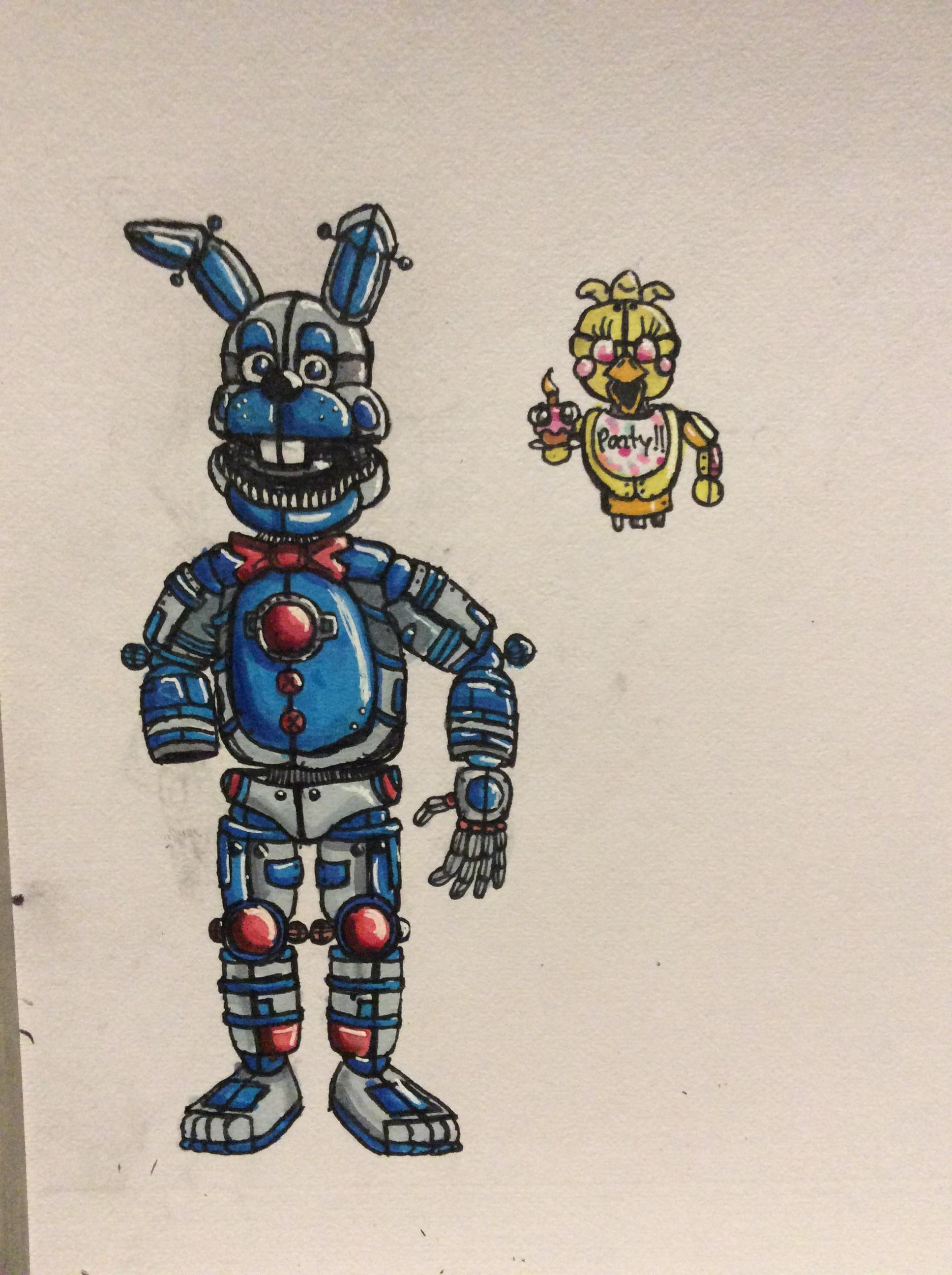 Diner Delivery Diner Delivery Bonnie And Chichi Fivenightsatfreddys