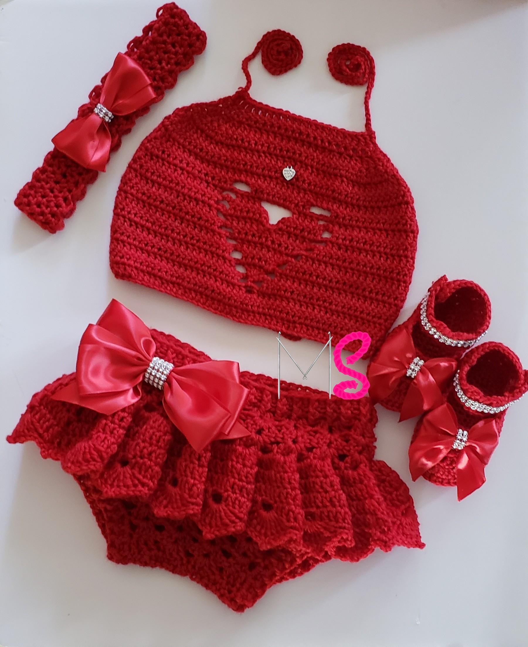 Bad Set For Baby Sweetheart Baby Set Sorry I Freehandmade These I Have No Pattern