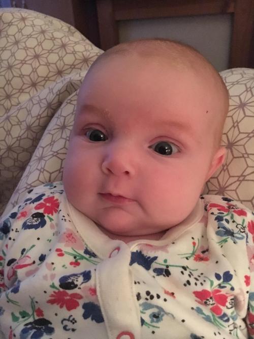 Medium Of 8 Week Old Baby