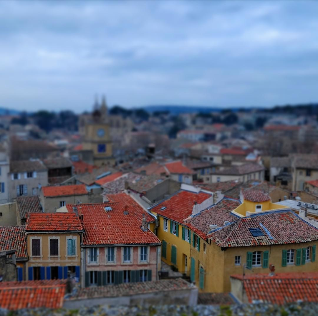 My First Attempt At Tilt Shift Salon De Provence France The Best Designs And Art From The Internet