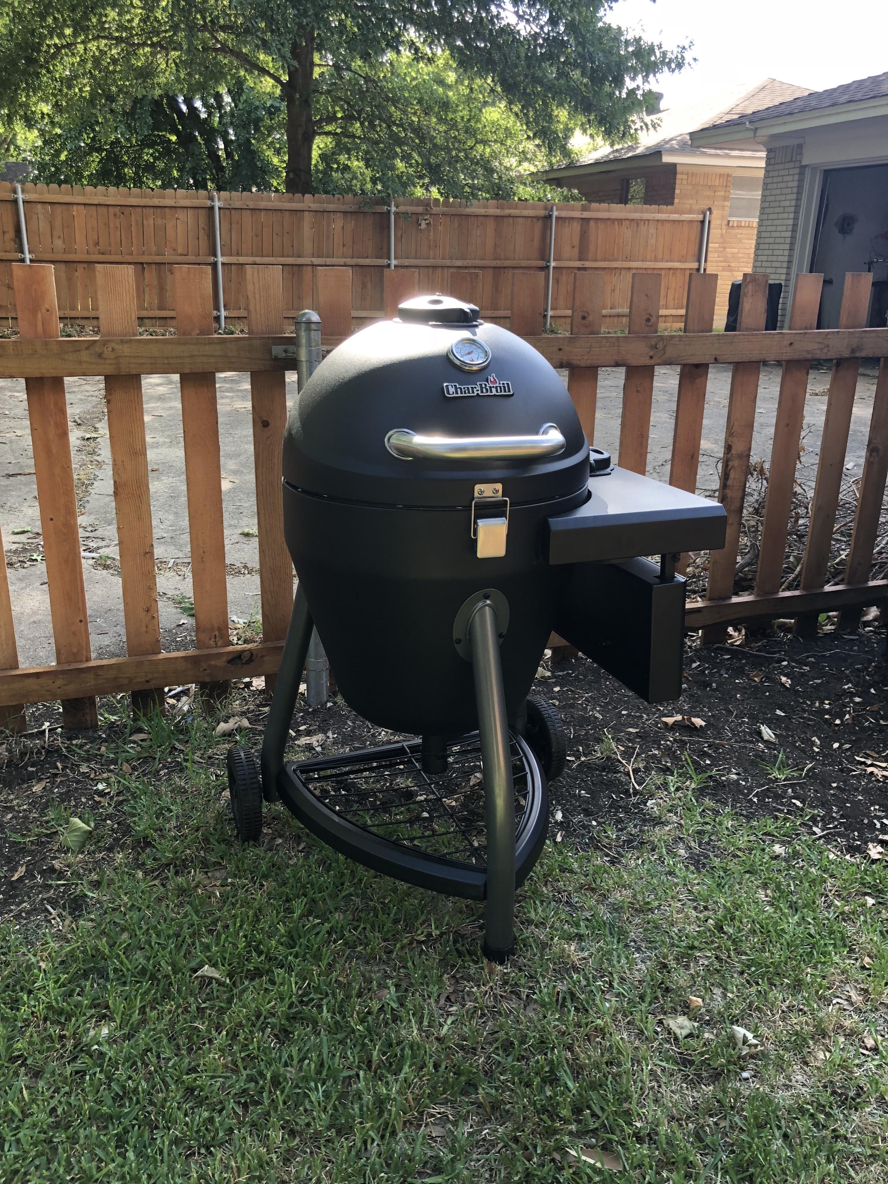 Barbecue Aldi Aldi Had This Char Broil Kamado Cooker On Clearance For 100