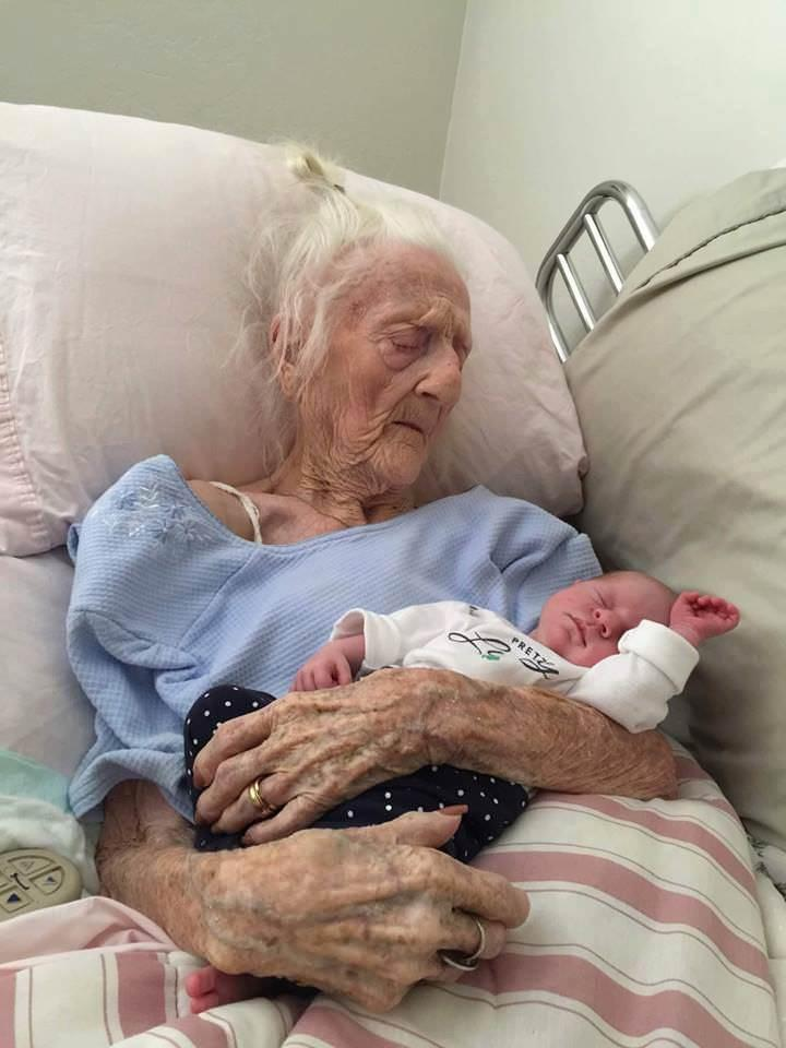 101 Years and 5 Generations Appart  MadeMeSmile