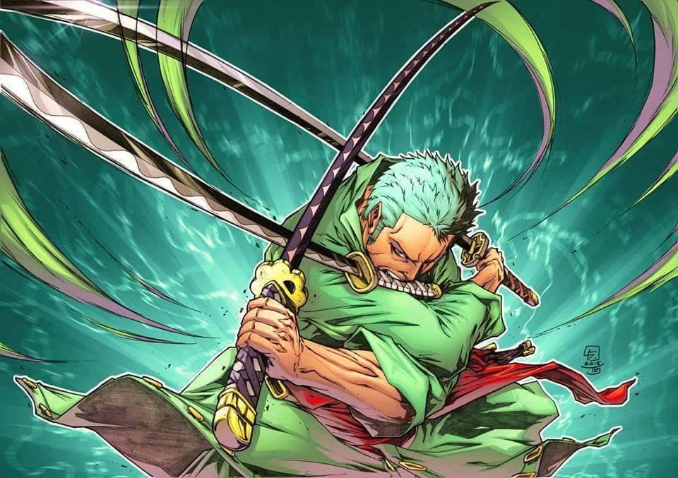God Live Wallpaper Hd Badass Zoro Picture Onepiece