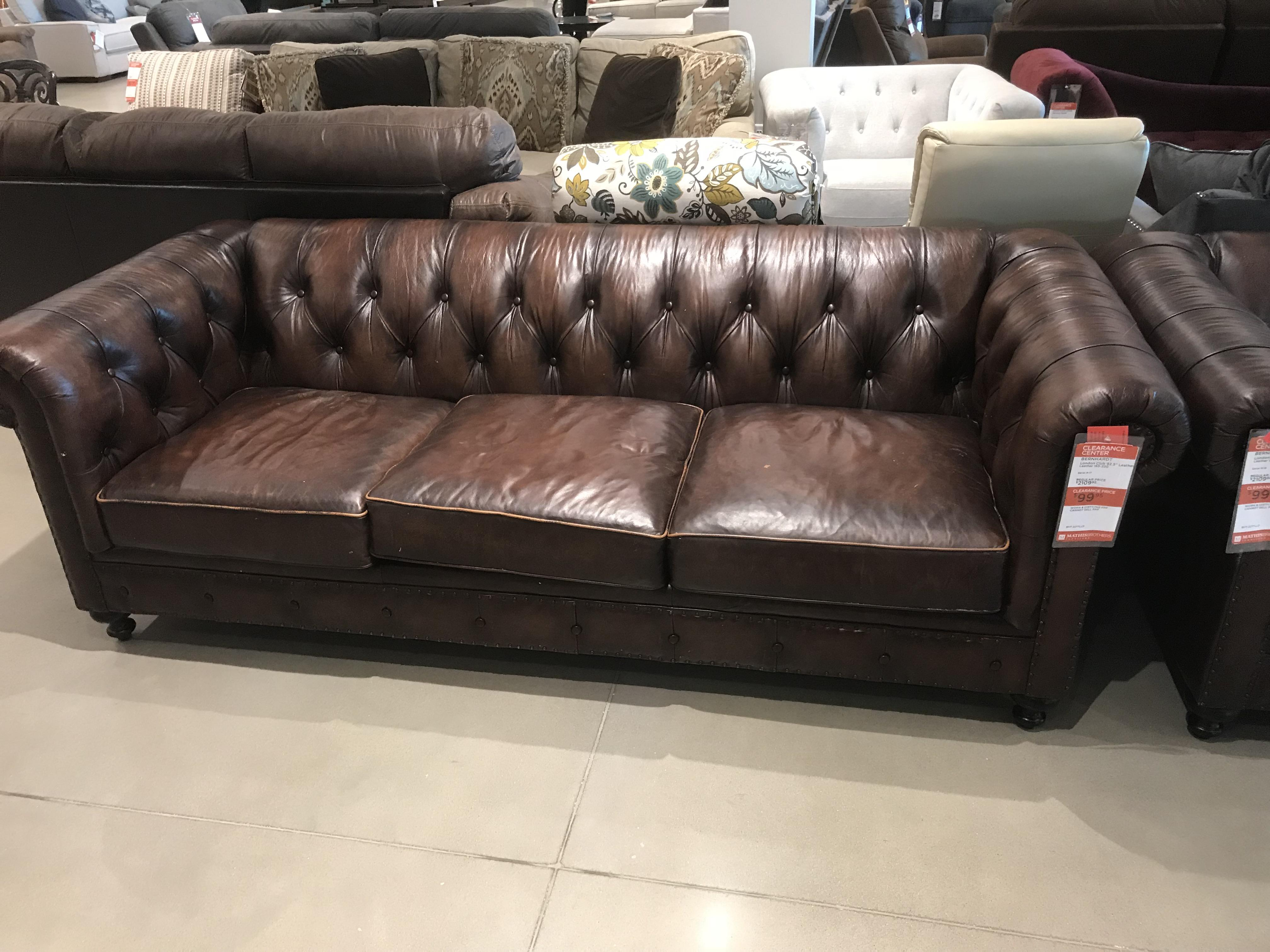 Sofa Couch Reddit 2 Bernhardt Leather Chesterfield Sofas 99 Each I Was Late And