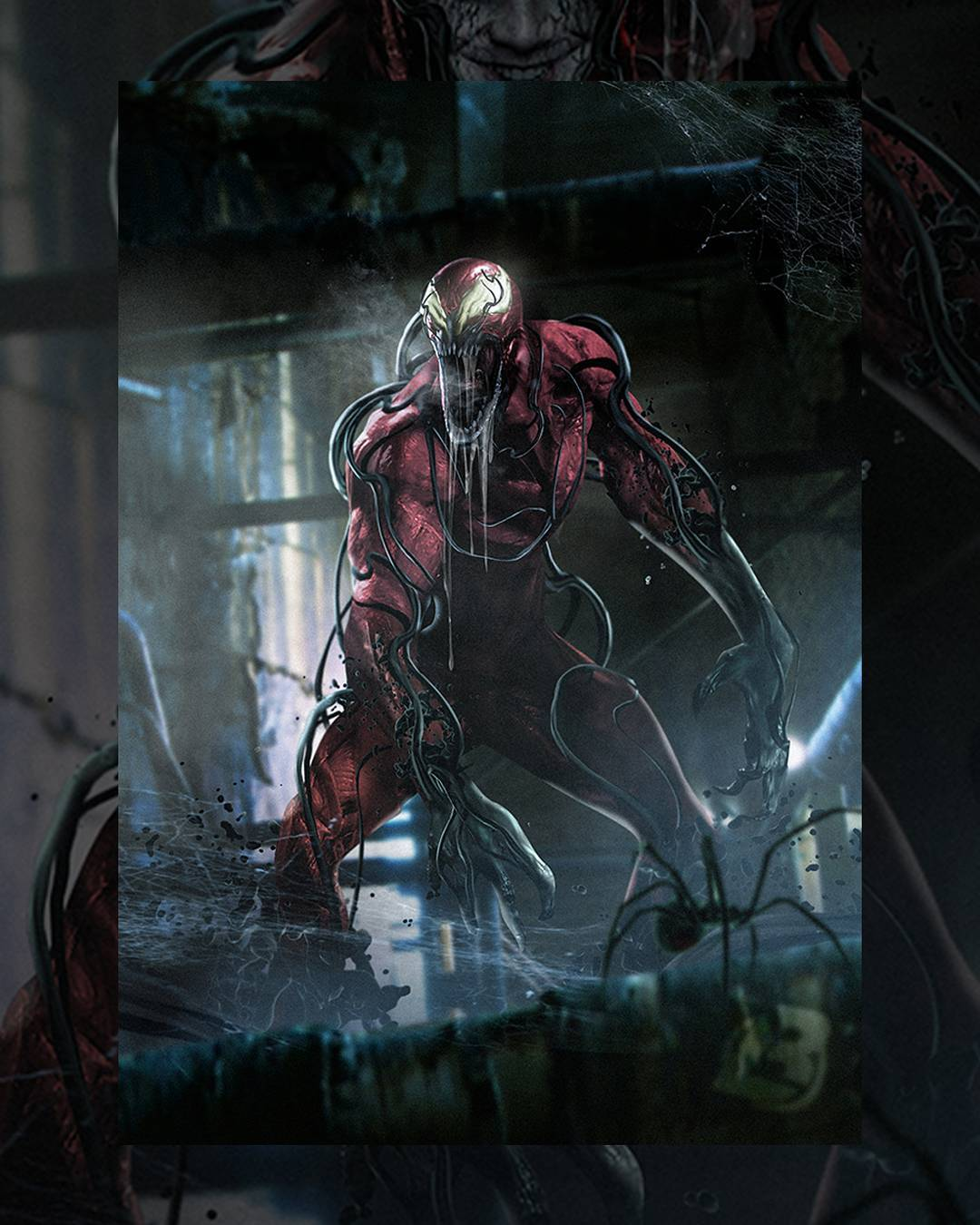 Logic Wallpaper Iphone 6 Carnage Concept Art By Bosslogic Spiderman