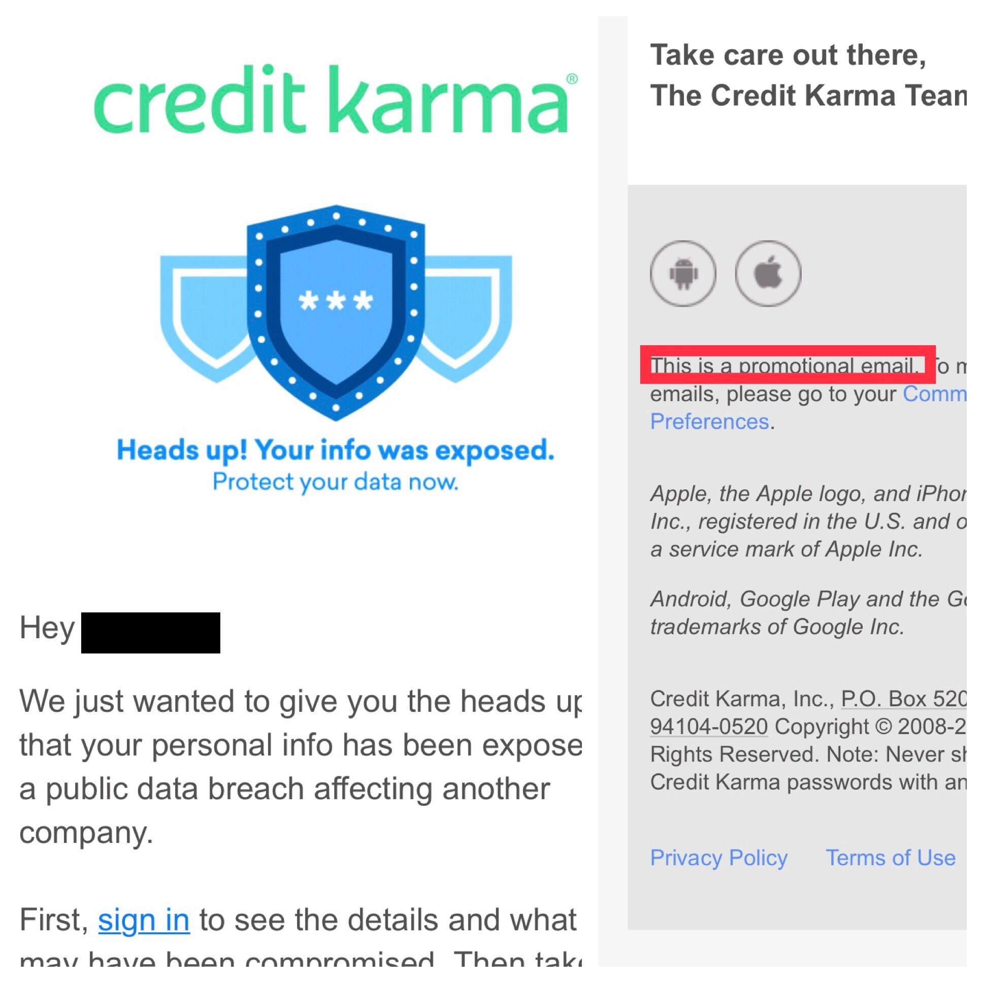 Credit Karma Fuck You Credit Karma Mildlyinfuriating