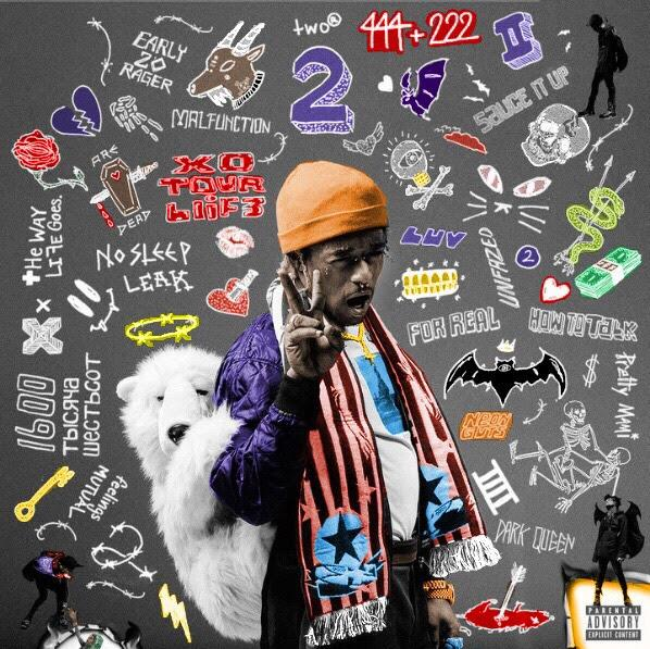 Luv is Rage 2 Colored Album Artwork  freshalbumart