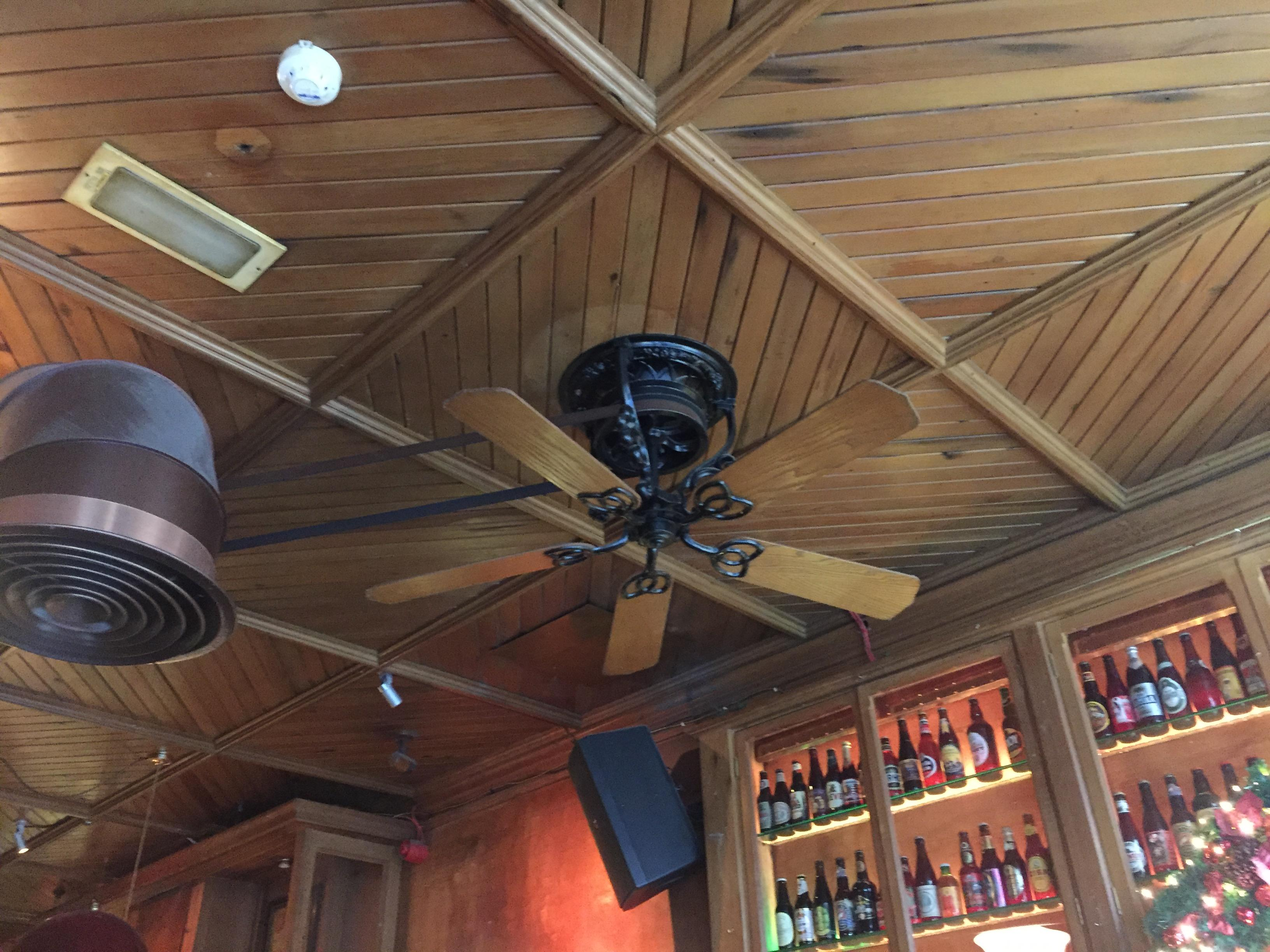 Belt Driven Ceiling Fans This Belt Driven Ceiling Fan Mildlyinteresting