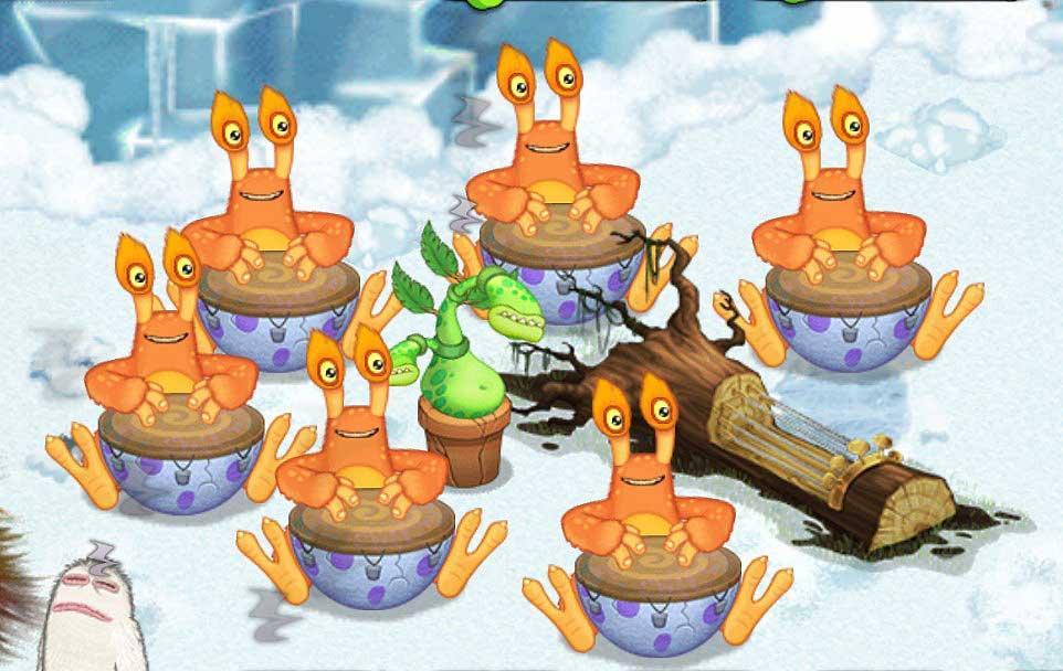 Congles party on Cold Islandjpg My Singing Monsters  MySingingMonsters