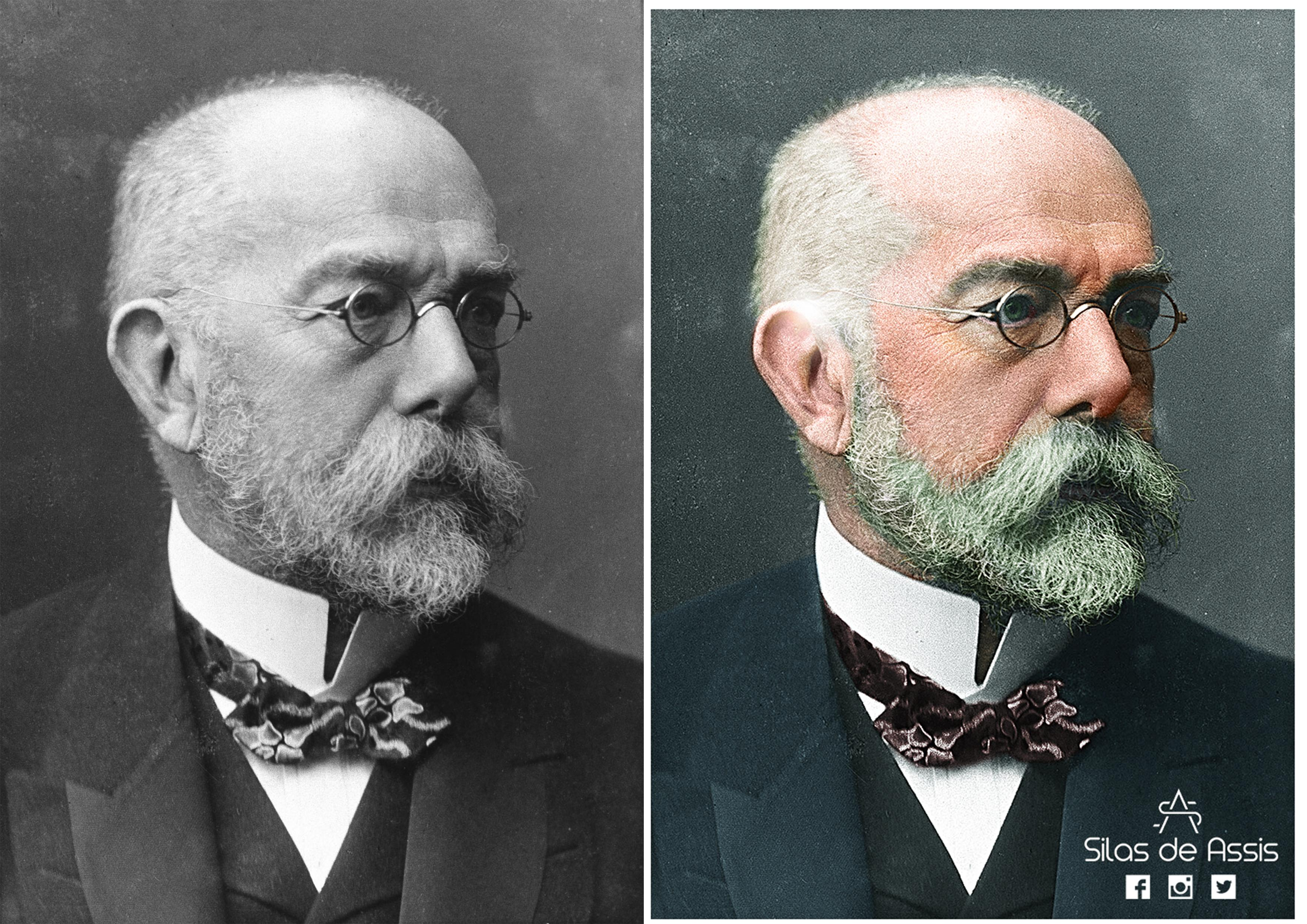 Hermann Koch Robert Heinrich Hermann Koch Colorization