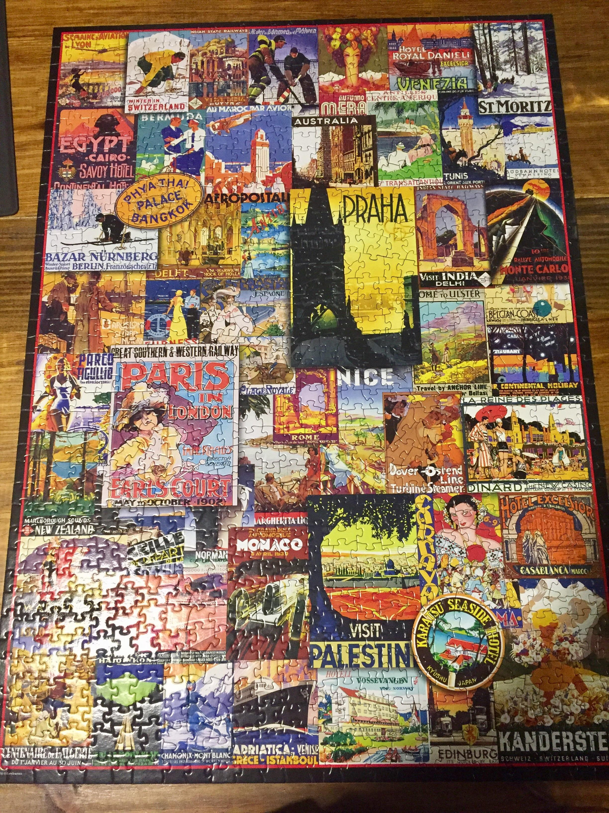 Berlin Puzzle I Like These Because I Feel I Get A Bunch Of Mini Puzzles In One