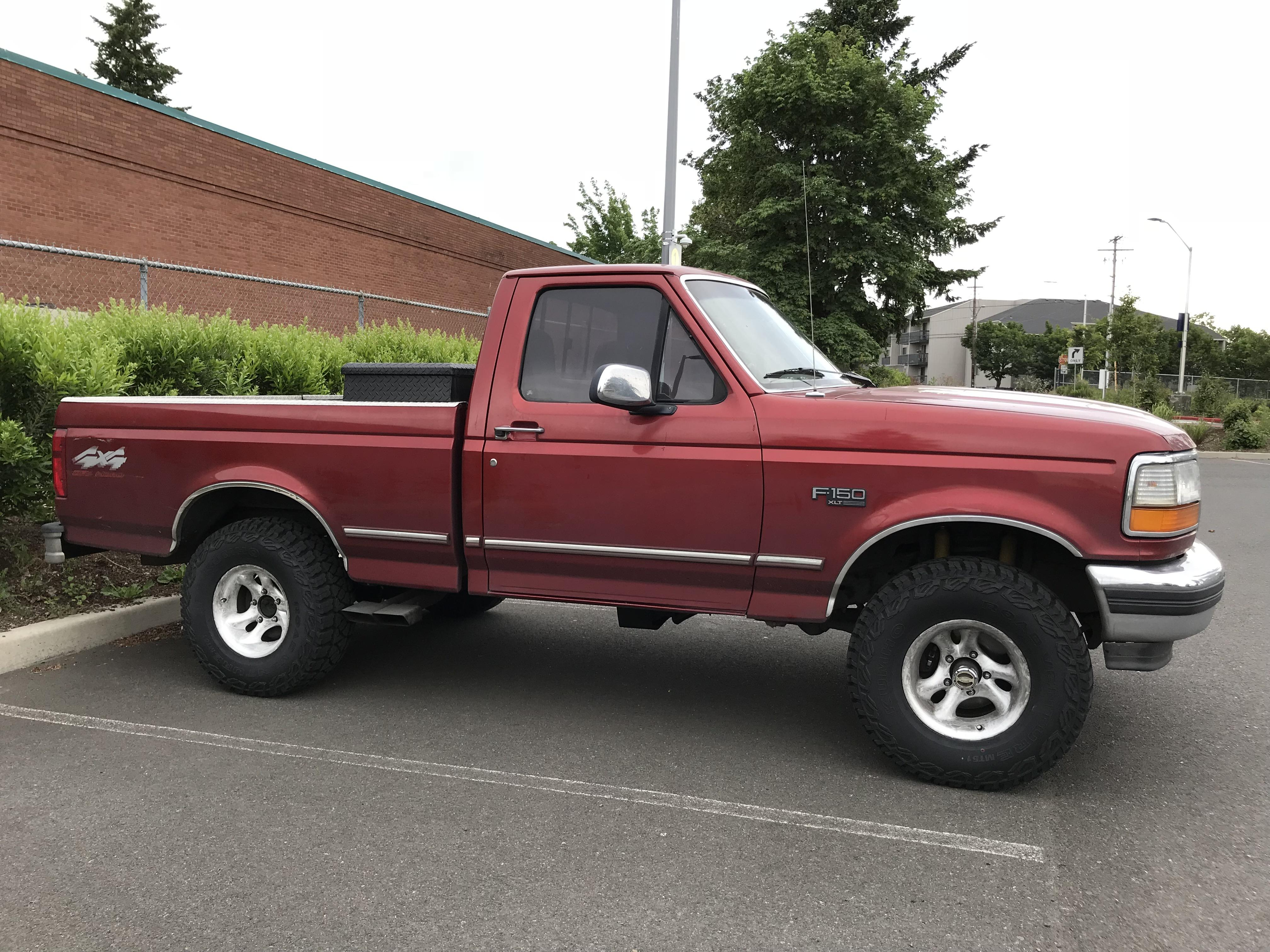 Ford F150 4x4 Work In Progress 1996 Ford F 150 Xlt 4x4 Off Road 351w With Warn