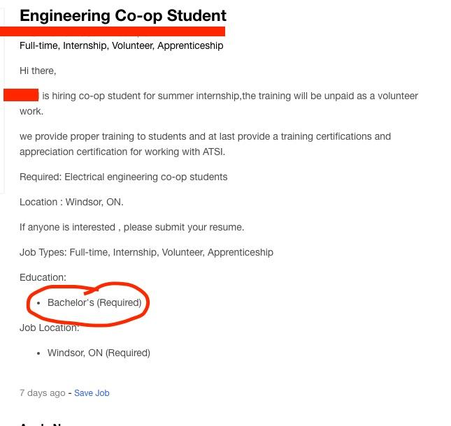 Engineering Student Was looking for a last minute summer job when I